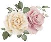 薔薇のイラストアイコン