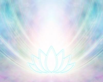 虹色の蓮と光 イメージ画像